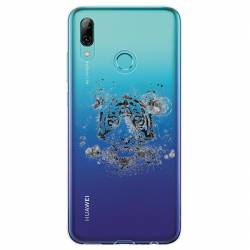 Coque transparente Huawei Honor 10 Lite / P Smart (2019) tigre