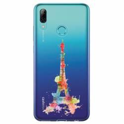 Coque transparente Huawei Honor 10 Lite / P Smart (2019) Tour eiffel colore