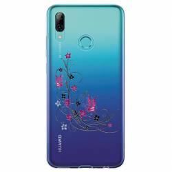 Coque transparente Huawei Y6 (2019) / Y6 Pro (2019) feminine fleur papillon