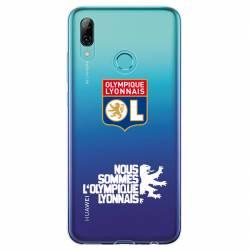 Coque transparente Huawei Y6 (2019) / Y6 Pro (2019) Licence Olympique Lyonnais - double face