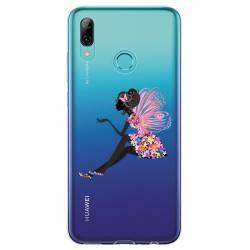 Coque transparente Huawei Y6 (2019) / Y6 Pro (2019) magique fee fleurie
