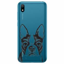 Coque transparente Huawei Y5 (2019) Bull dog