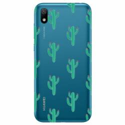 Coque transparente Huawei Y5 (2019) Cactus