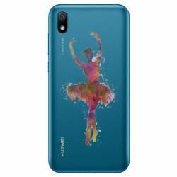 Coque transparente Huawei Y5 (2019) Danseuse etoile
