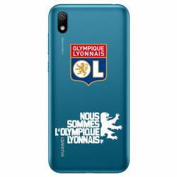 Coque transparente Huawei Y5 (2019) Licence Olympique Lyonnais - double face