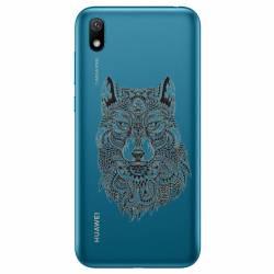 Coque transparente Huawei Y5 (2019) loup