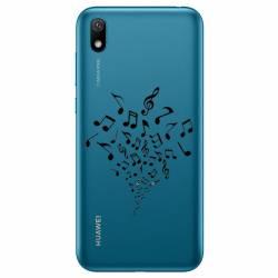Coque transparente Huawei Y5 (2019) note musique