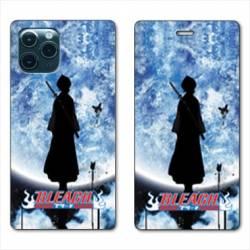RV Housse cuir portefeuille Iphone 11 Pro Max (6,5) Manga Bleach lune