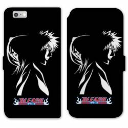 RV Housse cuir portefeuille Iphone 6 / 6s Manga Bleach duo