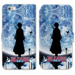 RV Housse cuir portefeuille Iphone 6 / 6s Manga Bleach lune