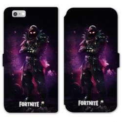 RV Housse cuir portefeuille Iphone 6 / 6s Fortnite Raven
