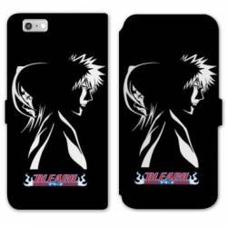 RV Housse cuir portefeuille Iphone 7 / 8 Manga Bleach duo