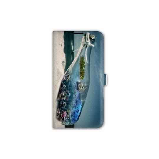 Housse cuir portefeuille pour iphone 6 / 6s  Mer