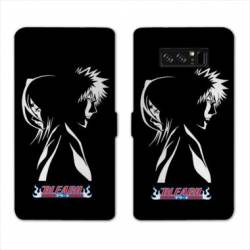 RV Housse cuir portefeuille Samsung Galaxy S10 Manga Bleach duo