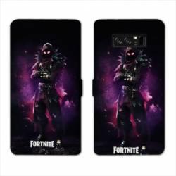 RV Housse cuir portefeuille Samsung Galaxy S10 Fortnite Raven