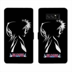 RV Housse cuir portefeuille Samsung Galaxy S10e Manga Bleach duo