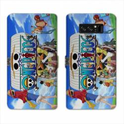 RV Housse cuir portefeuille Samsung Galaxy S10e Manga One Piece Sunny