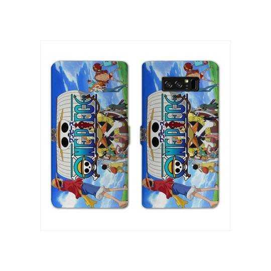 RV Housse cuir portefeuille Samsung Galaxy S10e Manga One Piece Sunny