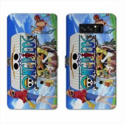 RV Housse cuir portefeuille Samsung Galaxy S10 PLUS Manga One Piece Sunny