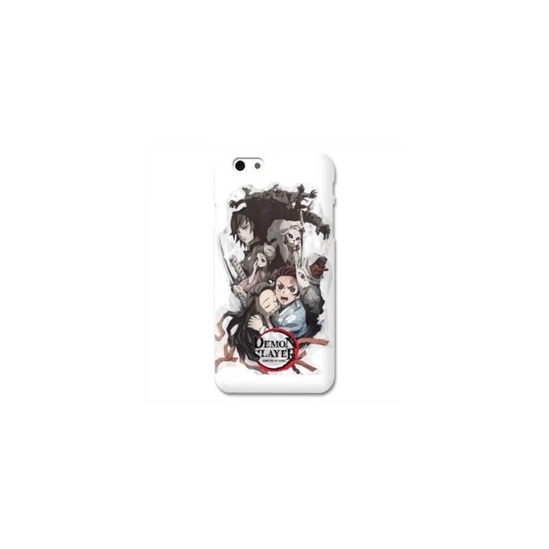 Coque Iphone 6 / 6s Manga Demon Slayer Blanc