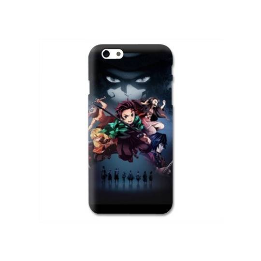 Coque Iphone 6 / 6s Manga Demon Slayer Noir