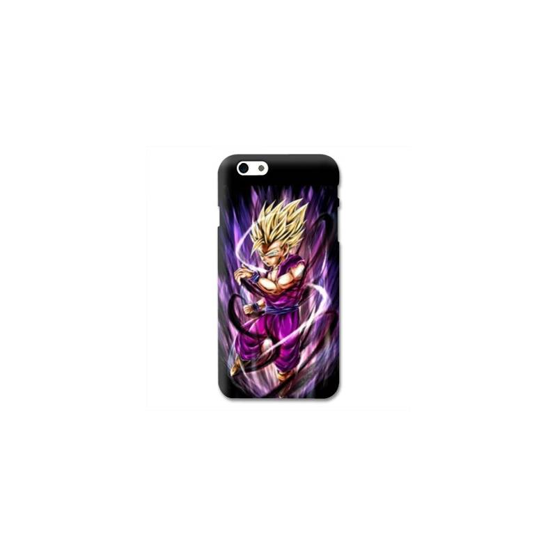 Coque Iphone 6 / 6s Manga Dragon Ball Sangohan violet