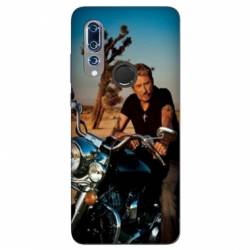 Coque Wiko View 3 Johnny Hallyday Moto