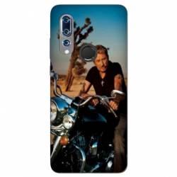Coque Wiko View 3 Johnny Hallyday Moto