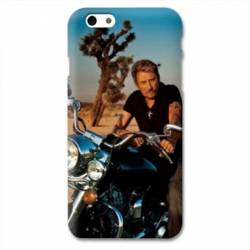Coque Iphone 6 / 6s Johnny Hallyday Moto