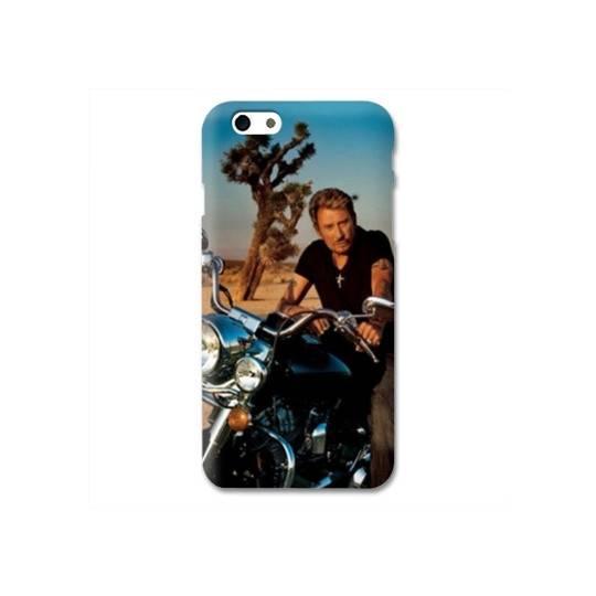Coque Iphone 6 / 6s Johnny Hallyday Moto