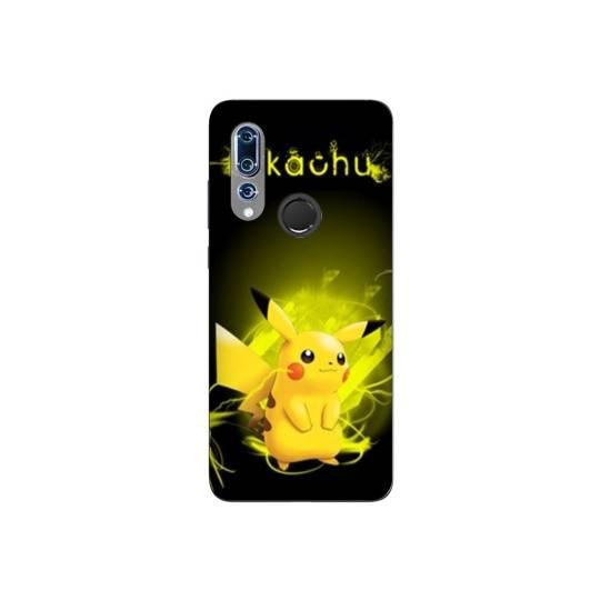 Coque pour Wiko View 3 Pokemon Pikachu eclair