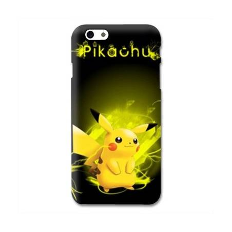 Coque Iphone 6 / 6s Pokemon Pikachu eclair