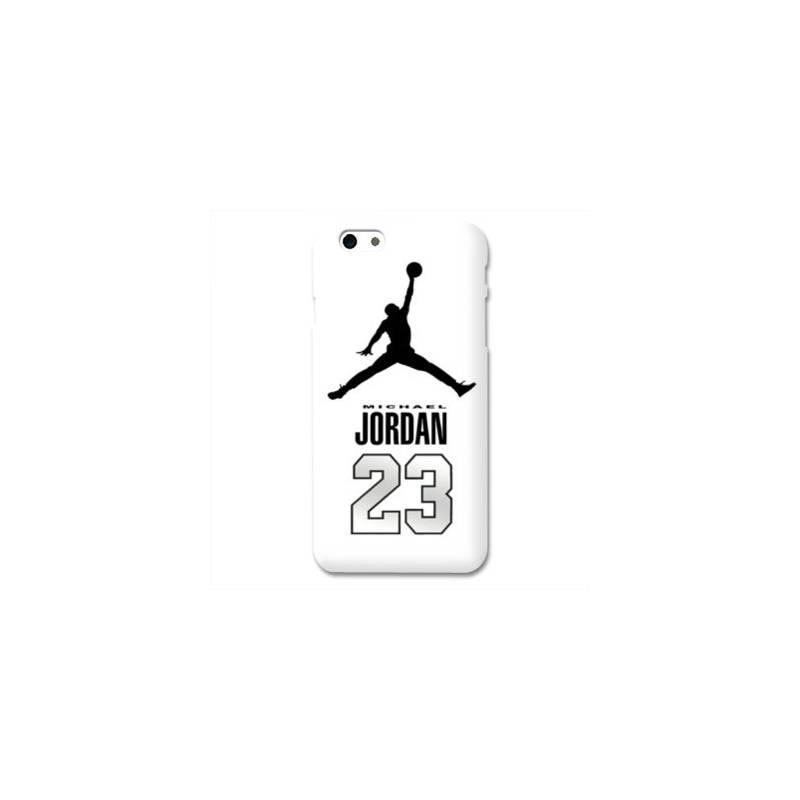 Coque Iphone 6 / 6s Jordan 23 Blanc