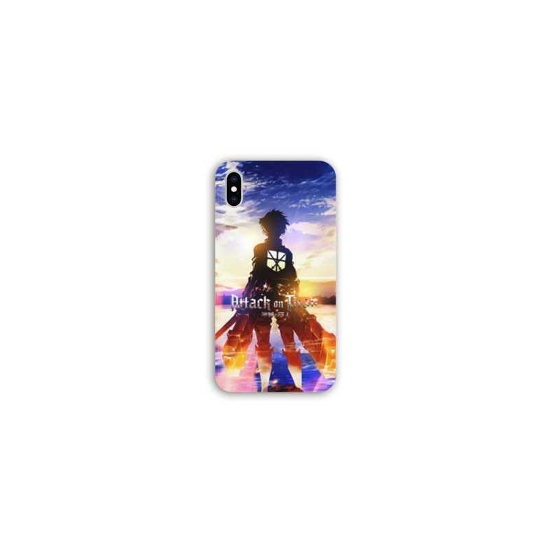 Coque Pour Iphone XR Manga Attaque titans Soleil