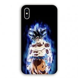 Coque Iphone XR Manga Dragon Ball Sangoku Noir