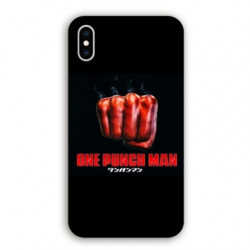 Coque Iphone XR Manga One Punch Man poing