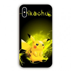 Coque Iphone XR Pokemon Pikachu eclair