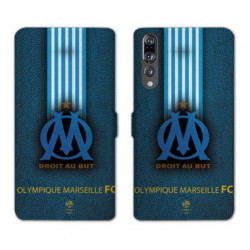 RV Housse cuir portefeuille Huawei P30 PRO Olympique Marseille OM Bande