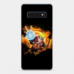 Coque Samsung Galaxy S10 PLUS Manga Naruto noir