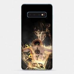 Coque Samsung Galaxy S10 PLUS Manga One Piece Ace noir