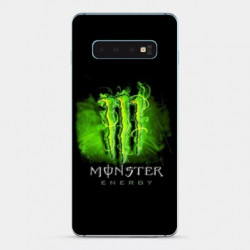 Coque Samsung Galaxy S10 PLUS Monster Energy Vert