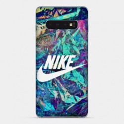 Coque Samsung Galaxy S10 PLUS Nike Turquoise