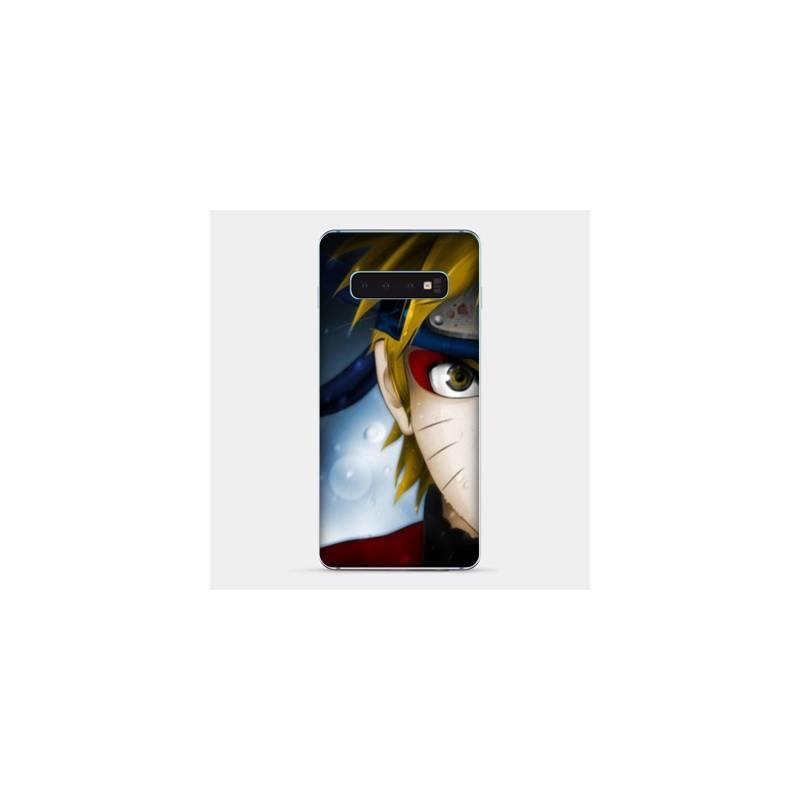 Coque Samsung Galaxy S10e Manga Naruto blanc