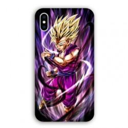 Coque Iphone XS Max Manga Dragon Ball Sangohan violet