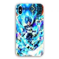 Coque Iphone XS Max Manga Dragon Ball Vegeta Bleu