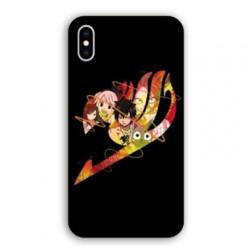 Coque Iphone XS Max Manga Fairy Tail Logo Noir