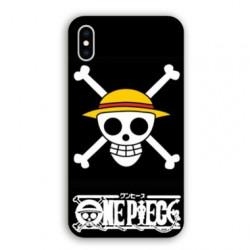 Coque Iphone XS Max Manga One Piece tete de mort