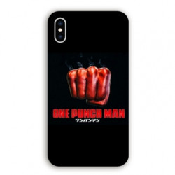Coque Iphone XS Max Manga One Punch Man poing