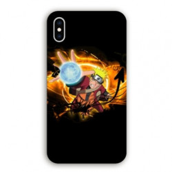 Coque Iphone XS Max Manga Naruto noir