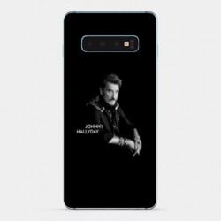 Coque Samsung Galaxy S10e Johnny Hallyday Noir